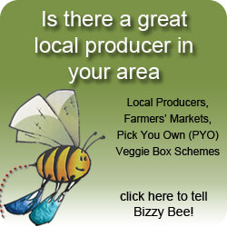 Tell Bizzy Bee about Local Producers in your area
