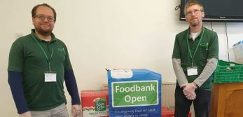 Puffin Produce Supports Local Pembrokeshire Food Bank